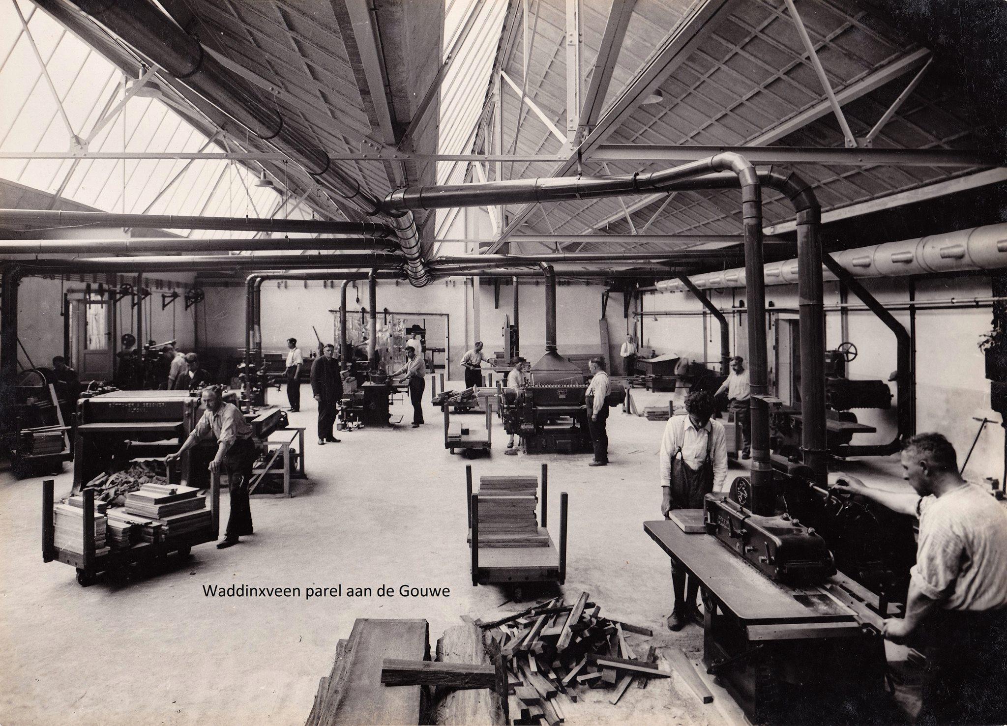 Meubelfabriek Kempkes-Parel aan de Gouwe